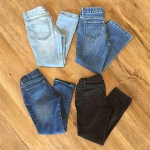 Children's Place Denim Jeans Skinny Bootcut Plus 6